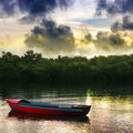 Rowboat Stockfoto