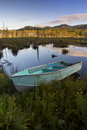 Rowboat in the Adirondacks Royalty Free Stock Photo