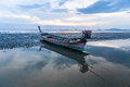 Rowboat in phuket Stock Image