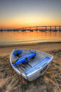 Rowboat at Rest Royalty Free Stock Photo