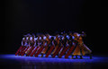 Rowers the second act of dance drama shawan events of the past guangdong town is hometown ballet music focuses on historical Royalty Free Stock Photos