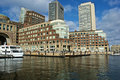 Rowes wharf building Stock Photography