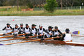 Rowing Royalty Free Stock Photography