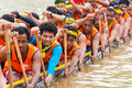 Rowing team race chumphon thailand oct unidentified rowers in climbing bows toward snatching a flag native thai long boats compete Stock Photos
