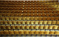 Rows or armchairs Royalty Free Stock Photos