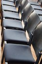 Rows Of Chairs Royalty Free Stock Photos