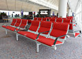 Rows of empty seats Stock Photography