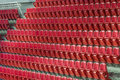 Rows of empty seats waiting for the audience Royalty Free Stock Photo