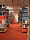 Rows of Library Books Royalty Free Stock Photo