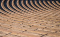 Rows of Seating in Ampitheater Royalty Free Stock Photo