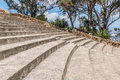 Rows of Seating and Stairs at Mt. Helix Park