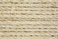 Rows of sisal rope Royalty Free Stock Photos