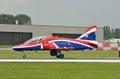 Royal Air Force Hawk i velivoli Fotografie Stock