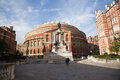Royal albert hall at spring time Stock Photography