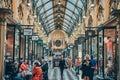 Royal arcade a beautiful shopping lane in melbourne cbd Stock Photography