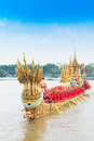 Royal Barge Procession  Royalty Free Stock Photography