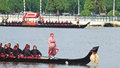 Royal Barge Procession Stock Photography