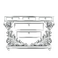 Royal Baroque Vector Classic Commode table furniture