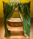 Royal bassinet Royalty Free Stock Photo