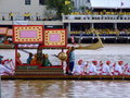 Royal boat, Bangkok, Thailand. Royalty Free Stock Photos