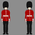 Royal british guard an image of a Stock Photos