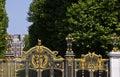 Royal Canada Gates and Green Park Royalty Free Stock Photo