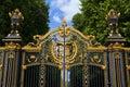 Royal Canada Gates to Green Park Royalty Free Stock Photo