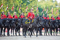 Royal Canadian Mounted Police Musical Ride Royalty Free Stock Images