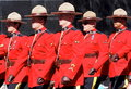 Royal Canadian Mounted Police Or RCMP Royalty Free Stock Photo