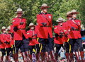 Royal Canadian Mounted Police-RCMP Royalty Free Stock Photo