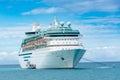 Royal Caribbean`s Majesty of the Seas Royalty Free Stock Photo