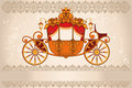 Royal carriage Stock Photos