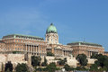 Royal castle Budapest Hungary Royalty Free Stock Photo