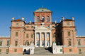 Royal castle of racconigi view the piedmont north italy Royalty Free Stock Image
