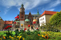 Royal Castle Wawel Royalty Free Stock Photo