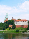 Royal castle in Wawel, Poland Royalty Free Stock Photos