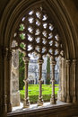 Royal cloister of the batalha monastery a masterpiece gothic and manueline art portugal unesco world heritage site Stock Images
