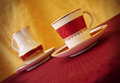 Royal coffee breack Royalty Free Stock Photo