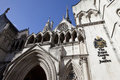 The Royal Courts of Justice in London Royalty Free Stock Photos