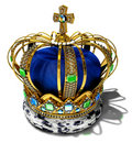 Royal crown Stock Image
