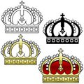 Royal Crown A Stock Image
