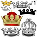 Royal Crowns vol.1 Stock Photo