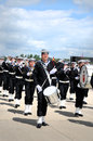 Royal danish navy band Royalty Free Stock Image