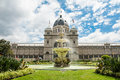 Royal exhibition building near carlton gardens in melbourne victoria australia Royalty Free Stock Image