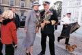 ROYAL FAMILY OF DENMARK Royalty Free Stock Photo