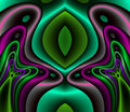 Royal Fractal Satin and Silk Royalty Free Stock Photo