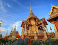 Royal funeral pyre at Sanam Luang Royalty Free Stock Images