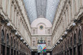 Royal Galeries of Saint Hubert Brussels Belgium Royalty Free Stock Image
