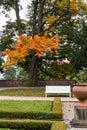 Royal garden at prague. Czech Republic Royalty Free Stock Photo