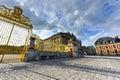 Royal Gates of Versailles Palace Royalty Free Stock Photo